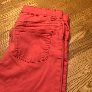 Girls size 10skinny jeans with adjustable waist